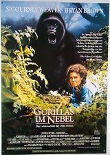 Gorillas im Nebel GORILLAS IN THE MIST Dian Fossey - Filmplakat DIN A1 (gerollt)