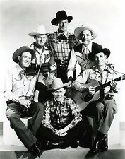 """""""SONS OF THE PIONEERS"""" WESTERN SINGING GROUP - 8X10 PUBLICITY PHOTO (AA-049)"""