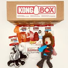 NEW KONG DOG BOX 4 ITEMS FOR SMALL DOGS
