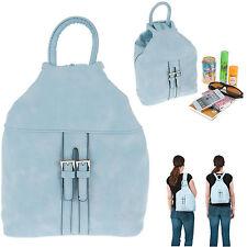 Rucksack Alessandro Femme Handtasche Damen Tasche Bag Lugano Hellblau 5437 +Etui