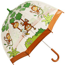 Bugzz PVC Dome Paraguas Para Niños-Cheeky monos