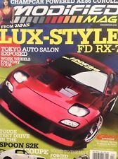 Modified Mag Magazine Lux Style FD Rx-7 Tokyo Auto Show April 2007 020418nonrh