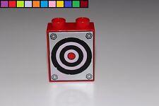 Lego Duplo - Zielscheibe - Cars - Hook - rot - 1x2 2er hoch - Motivstein