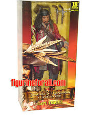 "NECA Pirates of Caribbean At World's End CAPTAIN TEAGUE 18"" Figure W/ SOUND DAM"