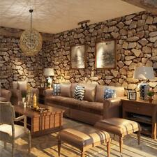 4x Vintage 3D Rocks Stone Wall Paper Wall Covering Paper Wall Art Murals A