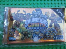 SKYLANDERS GIANTS Collectible Trading Cards 3 Packets TCG Topps Sealed Booster