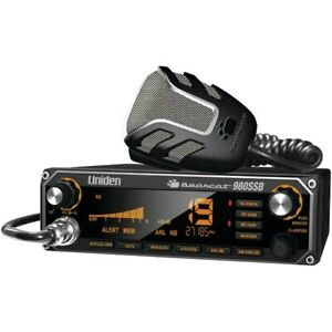UNIDEN BEARCAT980  CB RADIO WITH SSB AND 7 COLOR DISPLAY