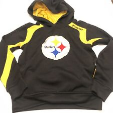 Pittsburgh Steelers Child's Hooded Sweatshirt Youth Size Small 8