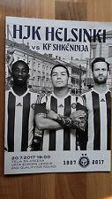 HJK v KF Shkendija    Europa League 20.7.2017