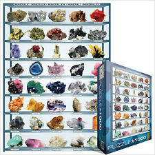 JIGSAW   EG60002008 	 Eurographics Puzzle 1000 Pieces - Minerals educational