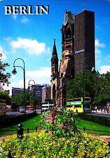 Berlin , Kaiser-Wilhelm-Gedächtniskirche , Ansichtskarte, 2000 gelaufen