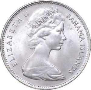 Better - 1966 Bahama Islands 1 Dollar - TC *409