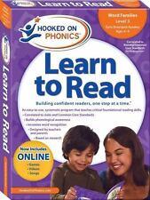 Hooked On Phonics Learn To Read Kindergarten Level 1