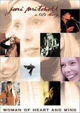 Joni Mitchell Woman of Heart and Mind a Life Story DVD PAL Region 4