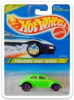 MAGNET 1995 Hot Wheels VW Bug Green Treasure Hunt MAGNET for Fridge Toolbox