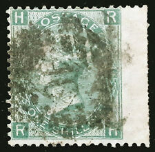 Great Britain Stamp 1865 1s Queen Victoria Plate 4 SG101wi Inverted WMK Used