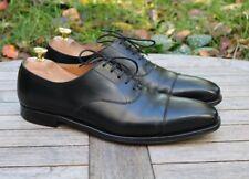 Crockett Jones 'Hallam' Negro & Oxford Cuero para Hombre Zapatos UK 8.5 D
