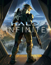 Halo Infinite Video Game Poster Art Print Wall Decor Size A1 A2