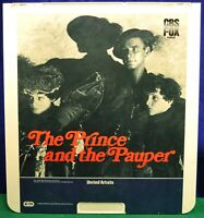 RCA VideoDisc CED - The Prince and the Pauper - United Artists - 1983