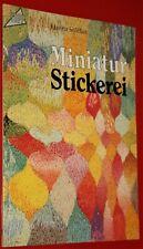 Miniatur Stickerei. TOPP 1130 Hanna Stöffler. Frech-Verlag 1991