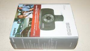"New Uniden DC115 iWitness 2.7"" Dual Dash Camera 120 Wide Angle 1080p G-Sensor"