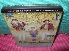 el bosque animado - metalica - 2 dvds + libro - landa - rey - cuerda