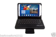 "Removable Bluetooth Keyboard Cover Case For Samsung GALAXY 8"" Tab SM- T310 T311"