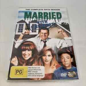 Married With Children : Season 5 (DVD, 3-Disc Set) NEW Region 4