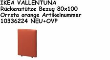 IKEA VALLENTUNA Rückenstütze Bezug 80x100 Orrsta orange Artik 10336224 NEU+OVP!