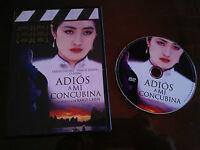 ADIOS A MI CONCUBINA DVD SLIM KAIGE CHEN LESLIE CHEUNG ESPAÑOL MANDARIN
