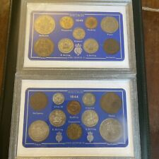 More details for 1944 - 1949 elizabeth ii coinage of great britain coin collection sets