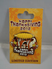 Ltd  ed WDW  2012 Happy Thanksgiving Chip and Dale