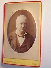 Parigi - 1878-UOMO IN GIACCA-Portrait/CDV