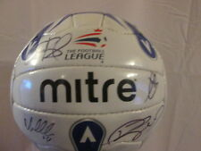 Huddersfield Town 2005-2006 Squad Signed Football Ball with COA /bi