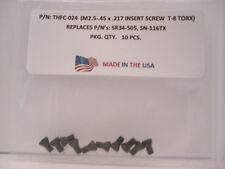 10 Pieces THFC-024 Insert Screw: SR34-505 .. SN-116TX