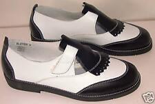 NEW Bleyer Swing Lindy Harlem Dance Shoes Blk/Wht Wom10