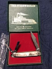 Vintage Boker Knife Solingen Germany Whittler Sternwheeler UNUSED W/Original Box