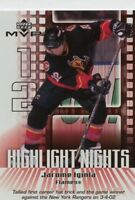 Jarome Iginla 2002-03 Upper Deck MVP Highlight Nights #3