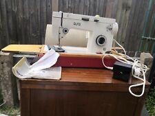 Alfa 720 Semi Industrial Tapicería Y Tela Zigzag máquina de coser