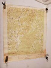 Vintage 1951 U.S. Geological Survey Map ~ Farrington Quadrangle North Carolina