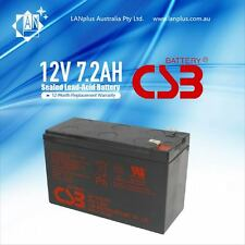 10x NBN Power Supply Battery Hitachi CSB 12v 7.2ah 6 Cell VRLA Lead Acid
