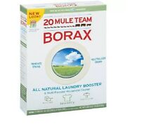 20 MULE TEAM BORAX 65 oz.-- ALL NATURAL LAUNDRY BOOSTER-- SHIPPING INCLUDED