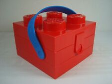 LEGO Red Lunch Box with Handle Official Lego
