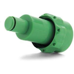 GENUINE Green Petrol Anti Spill Spout Rocwood Husqvarna Chainsaws CombI Fuel Can