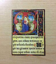 SANTINO - IMMAGINE DI SANTA MARIA CON GESU' BAMBINO - ORIGINAL HOLY PICTURE