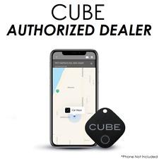 Cube Tracker GPS Key Finder, Phone Item Finder, Replaceable Battery, Waterproof