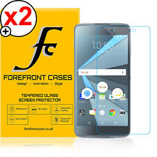 Forefront Cases® 9H HD Tempered Glass Screen Protector Blackberry DTEK50 X 2