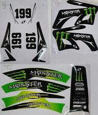 Mini Moto Dirt Pit Bike Moster Energy  Graphics DecaL Stickers Kxd Orion 49CC