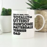 Patterdale Terrier Dad Mug: Funny gifts patterdale terrier gift owners & lovers!