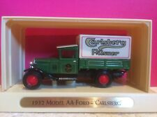 MATCHBOX MODELS OF YESTERYEAR FORD AA CARLSBERG 1932 1/43 NEUF BOITE W1